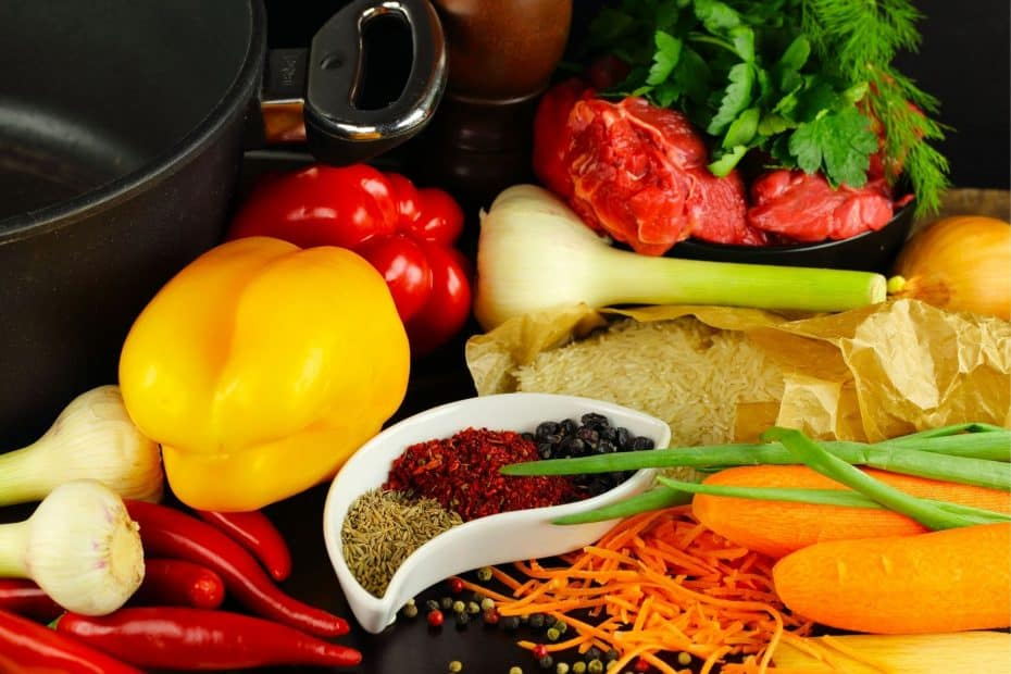 Ingredients for cooking